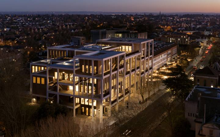 Kingston University's Town House building named finalist in Constructing Excellence SECBE Awards