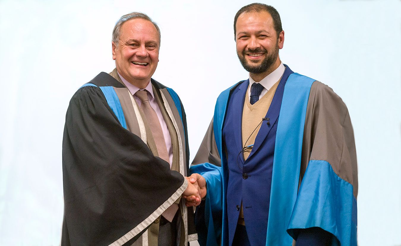 Picture of Professor Martyn Jones and Professor Umut Turksen