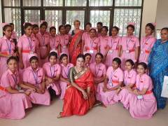 Leading Kingston University and St George's, University of London midwifery expert called upon to help transform quality of care in Bangladesh