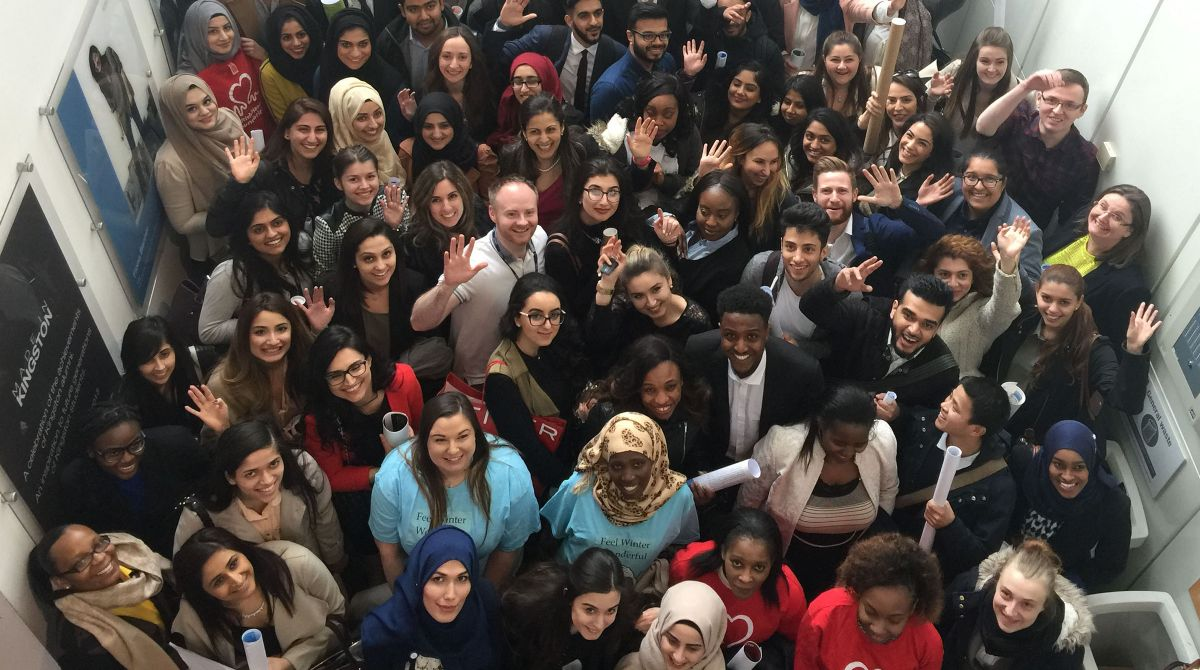 Kingston University pharmacy students lead the way in using social media to help tackle key public health issues