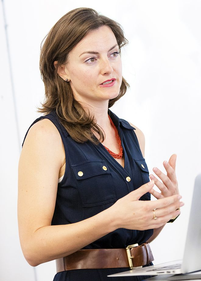 An image of Eva Anderson from global agency Transparency International