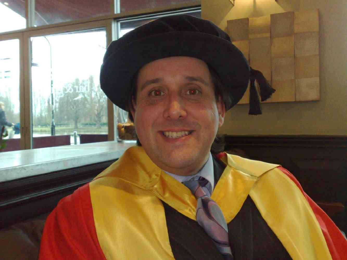 Prof James Barker - Graduation Day