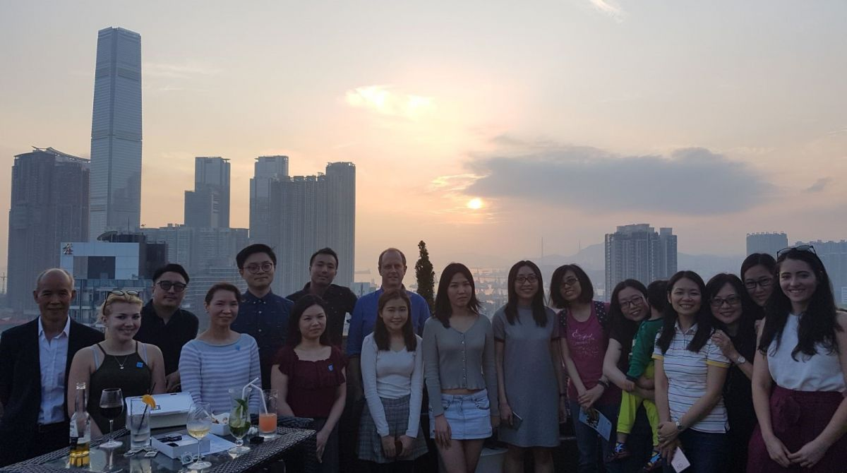 Kingston University hosts alumni drinks reception in Hong Kong