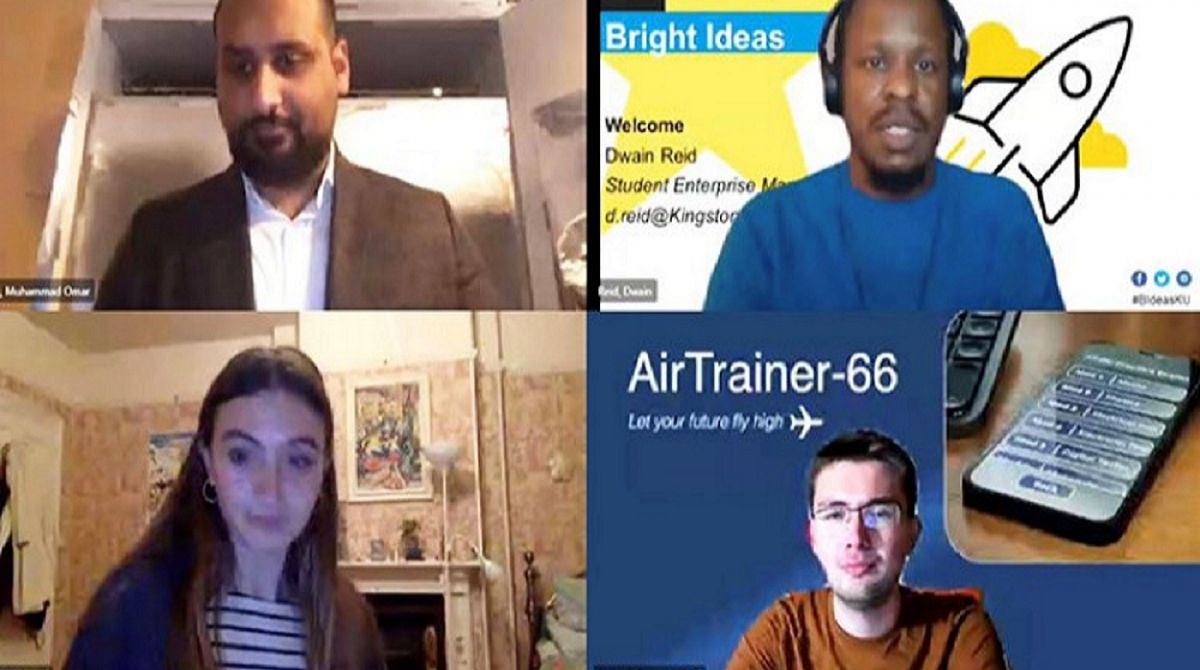 Bright Ideas moves online as Kingston University students pitch their pioneering ideas to solve real-life issues