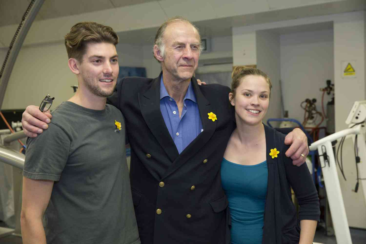 Working with British Explorer Sir Ranulph Fiennes - Heat acclimation expertise for Sir Ranulph Fiennes and other athletes preparing for Marathon des Sables