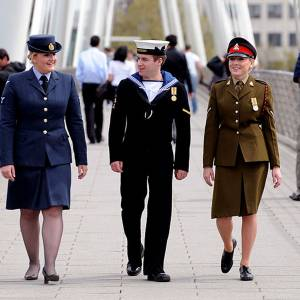 Kingston University supports military personnel and their families by signing the Armed Forces Covenant