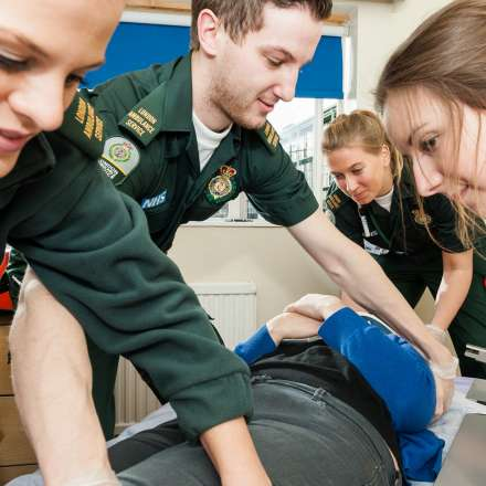 Paramedic simulation suite