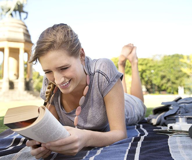 Research into fiction habits reveals reading may make us kinder. Image:REX/Shutterstock