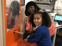 Primary school pupil's idea for automated sink to help mum during fight with cancer brought to life by Kingston University