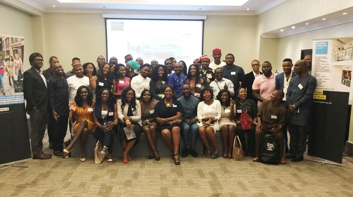 Kingston alumni in Nigeria strengthen their connections