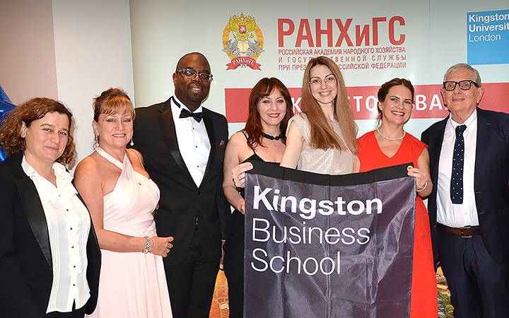Kingston Business School celebrates 20 years of internationally respected Moscow MBA programme