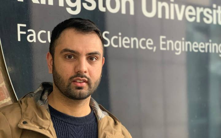 Kingston University student successfully juggles study, work and family after applying through Clearing to pursue legal dream