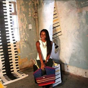 Entrepreneurial fashion graduate Akosua creates sustainable jobs for women in Ghana as she establishes her own line of handbags