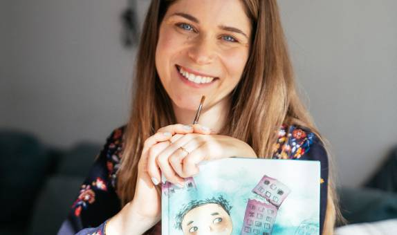 Kingston University graduate Nadine Kaadan makes BBC's list of 100 inspiring and influential women of 2020 for championing inclusivity in children's books