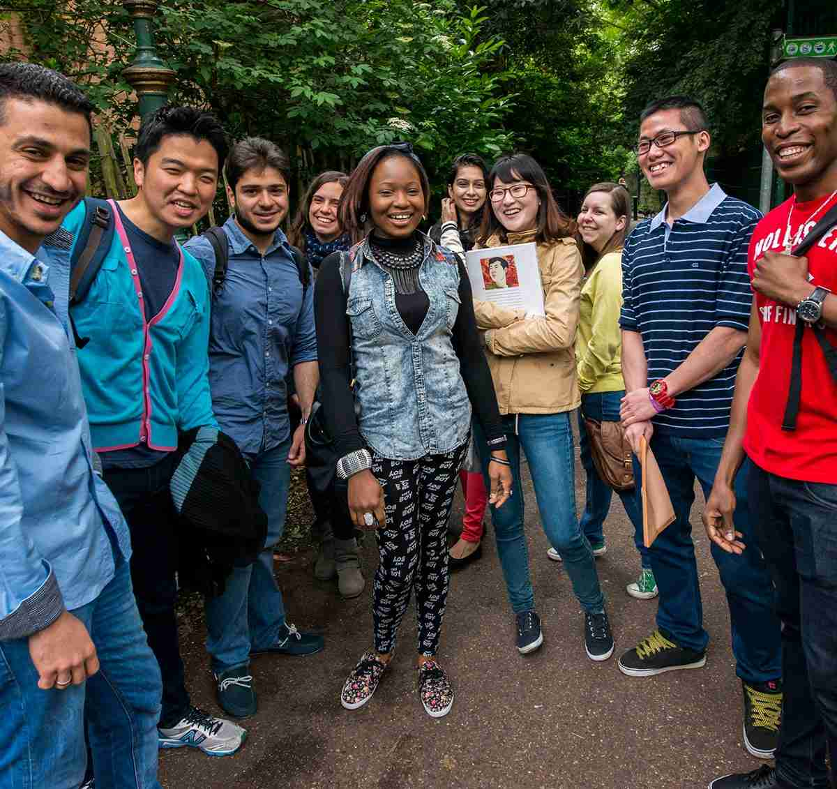 International students at Kingston University - Kingston