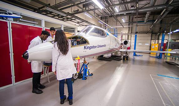Aircraft Engineering BEng (Hons) top-up