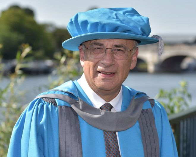Leading judge Sir Brian Leveson was among those awarded an honorary degree by Kingston University