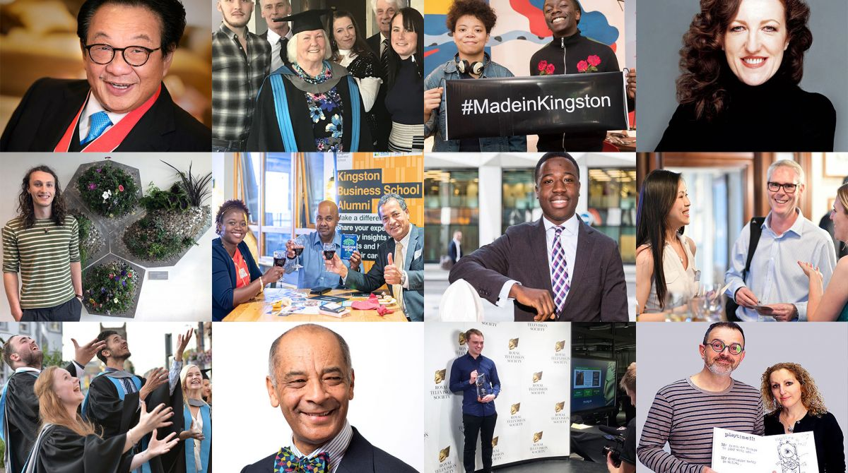 2019 round up: Highlights from a fantastic year for Kingston alumni