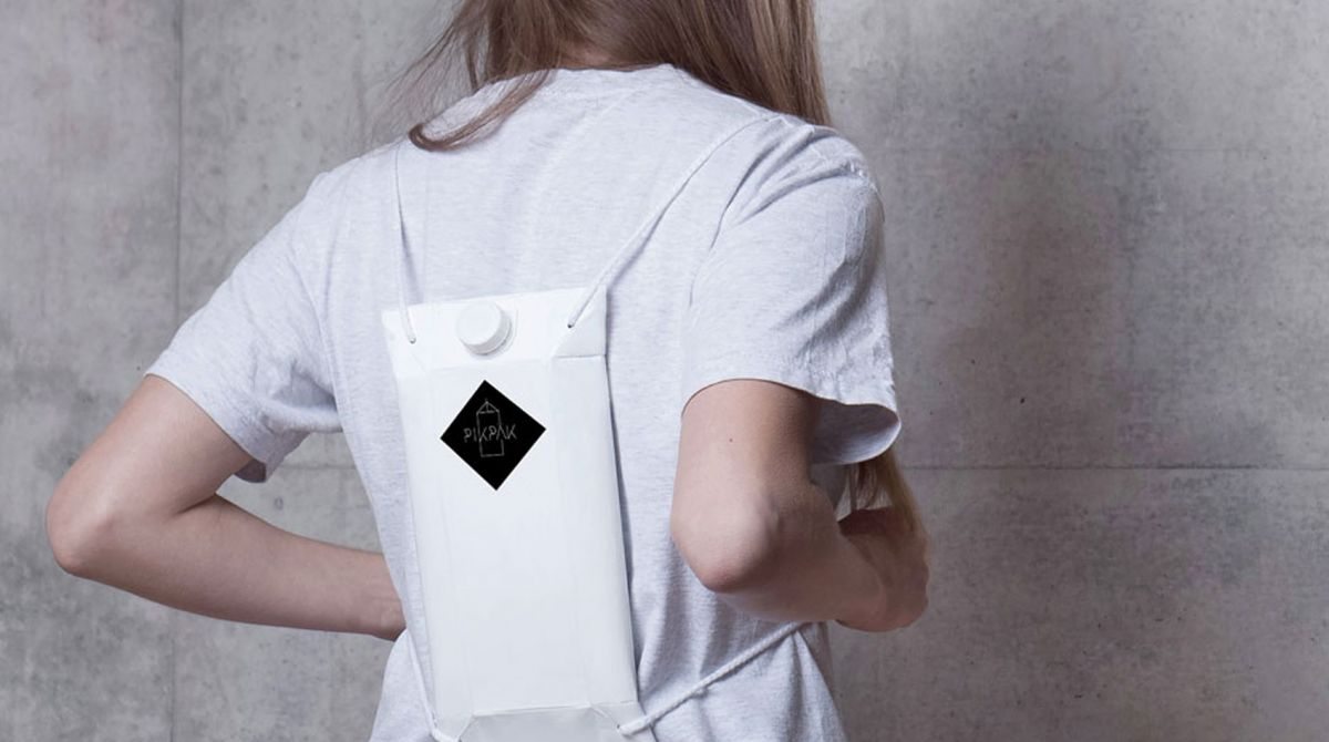 Kingston University graduate wins Red Dot communication design award for innovative backpack to keep drinks safe at festivals