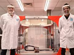 Kingston University manufactures hundreds of protective face shields for NHS and key workers to help in coronavirus battle
