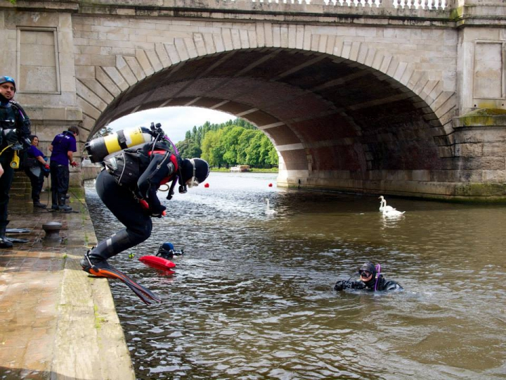 River Thames clean up