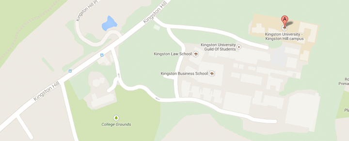 View Kingston Hill (for majority of the course) and St George's, University of London on our Google Maps