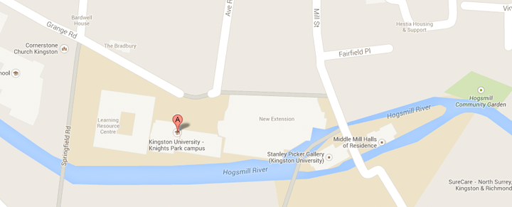 View Kingston School of Art, Knights Park, and the Design Museum, London on our Google Maps