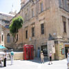 Red phone boxes in Malta's capital Valetta (students carry out various human geography projects in the city)