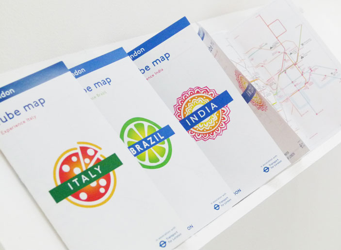 Joana Galvao designed a mobile app and map leaflets to help tourists explore the capital's cultural highlights.