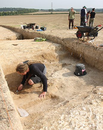The team of archaeologists is gradually building up evidence of Neolithic life in England.