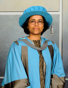 Professor Geeta Gandhi Kingdon was honoured for her contribution to education and international development.