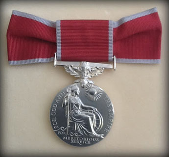 The British Empire Medal was revived last year to coincide with the Queen's Diamond Jubilee.