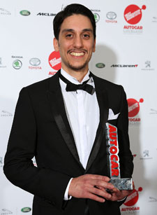 Kingston student Roberto Antonio Pace won an award for designing a new braking system.