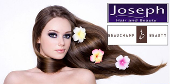 Joseph's Hair & Beauchamp Beauty 80% off promotion for alumni