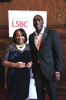 Diane Abbott and soccer star Sol Campbell were among the names at the event