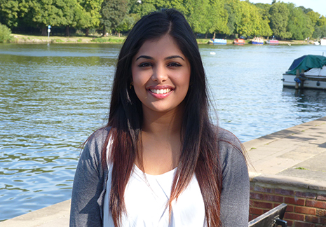Renisha Robin, 19, is the first person in her family to attend university