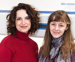 Shereen El-Nabhani and Barbara Pierscionek