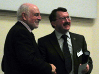 Professor Dick Moody awarded the Geological Society's Distinguished Service Award 2013