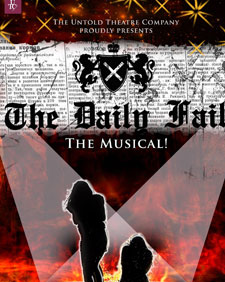 Poster for the Daily Fail's current run at Waterloo East theatre