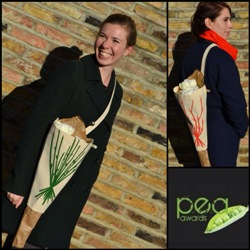 The prize-winning Pozzy flower carrier