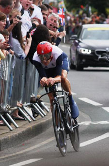 Sports stars like Bradley Wiggins attracted visitors to Kingston.