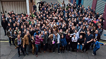 Framestore crew. Photo credit: Framestore.com