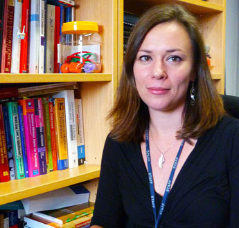 Senior lecturer Dr Jo Van Herwegen has carried out extensive research with pre-school children using a series of number-based games.