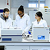Pharmacy students can test their skills in our new pharmacy  practice lab