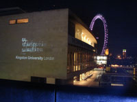 Kingston University animation students brought the South Bank alive, inside and out