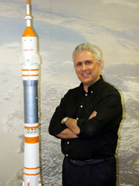 Kingston University aerospace expert Dr Chris Welch is one of Britain's foremost authorities on the Space Age.
