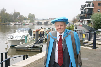 Honorary Doctor of Science Sir David Attenborough