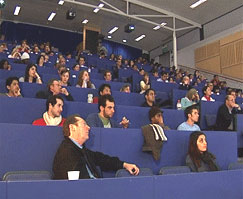 The recently redundant can now join Kingston students and step into the University's lecture theatres.