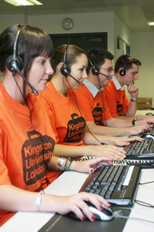 Kingston University's Clearing hotline is expected to take thousands of calls.