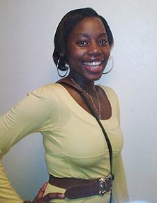 Eseza Mpalanyi found a place at Kingston University through Clearing after changing her plans to study further afield.